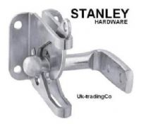 "STANLEY 4"" gate latch/catch.Lockable.1 pack with Screws. Zinc 76-3835"